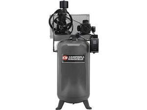 CE7051 5 HP Two-Stage 80 Gallon Oil-Lube 3 Phase Stationary Vertical Air Compressor