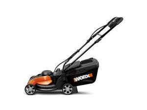 WG775 24V Cordless 14 in. Rear Discharge Electric Lawn Mower