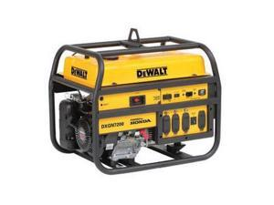 DXGN7200 7,200 Watt Gas Generator with Electric and Recoil Start