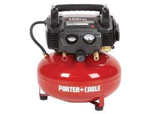 C2002R 0.8 HP 6 Gallon Oil-Free Pancake Air Compressor