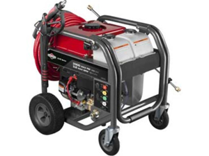 20542 3,300 PSI 3.2 GPM Gas Pressure Washer with Key Electric Start & 4-Wheel Design