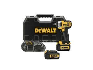 DCF883M2 20V MAX XR Cordless Lithium-Ion 3/8 in. Impact Wrench Kit with Hog Ring Anvil