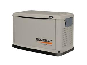 6245 Guardian Series 8 kW Air-Cooled Standby Generator with Steel Enclosure (CARB)