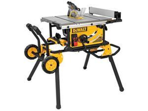 DWE7491RS 10 in. 15 Amp Site-Pro Compact Jobsite Table Saw with Rolling Stand
