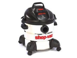 5986100 8 Gallon 5.5 Peak HP Stainless Steel Wet/Dry Vacuum