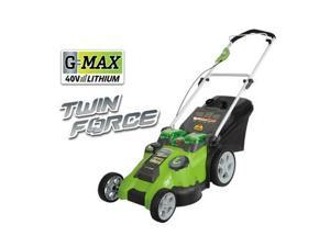 25302 40V G-MAX Cordless Lithium-Ion 20 in. 2-in-1 Twin Force Lawn Mower