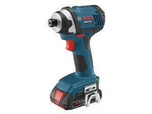 Factory-Reconditioned IDS181-02-RT 18V Compact Tough 1/4 in. Hex Impact Driver with 2 HC SlimPack Batteries
