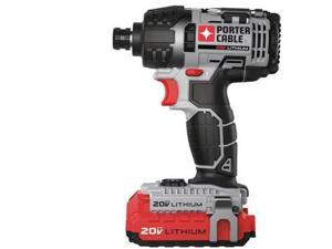 Factory-Reconditioned PCCK640LBR 20V MAX Cordless Lithium-Ion 1/4 in. Hex Impact Driver