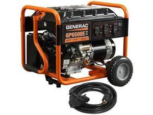 6515 GP Series 6,500 Watt Portable Generator w/ 20 ft. Convenience Cord