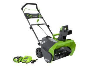 GreenWorks 26272 40V G-MAX Cordless Lithium-Ion 20 in. Snow Thrower