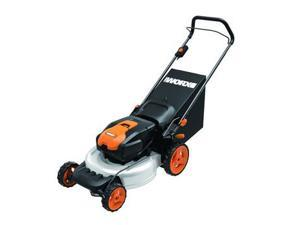 WG770 36V Cordless Ni-MH 19 in. 2-in-1 Mower with Single Lever Depth Setting