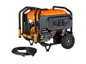 Factory-Reconditioned 6433R XT Series 8,000 Watt Electric-Manual Start Portable Generator