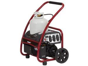 PM0133250 3,250 Watt Portable Propane Generator with Manual Start