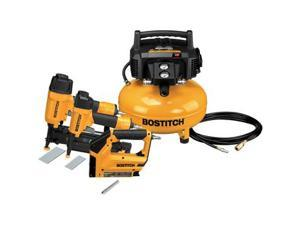 BTFP3KIT-R 3-Piece Nailer and Compressor Combo Kit