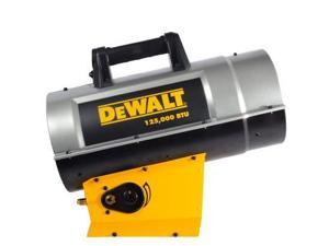 Dewalt F340720 DXH125FAV 85,000 - 125,000 BTU Forced Air Propane Heater