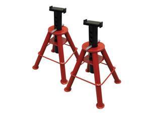 1310 10 Ton Capacity Medium Height Pin Type Jack Stands (Pair)