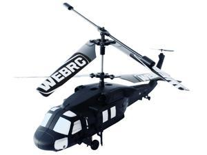 "WebRC - 12"" Black Hawk Helicopter Special Ops"
