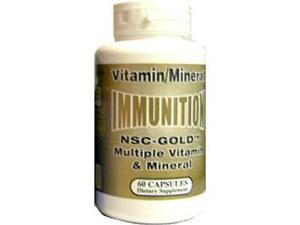 NSC-Gold Multiple Vitamin/Mineral, 60 Caps