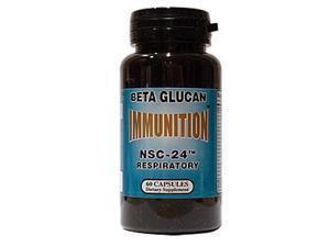 NSC-24 Beta Glucan Respiratory Formula, 60 Capsules