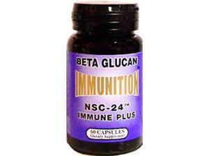 NSC-24 Beta Glucan Immune Plus, 60 Caps