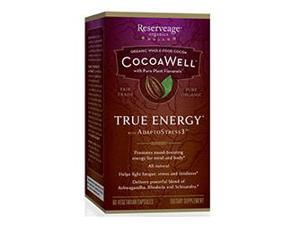 CocoaWell True Energy - Reserveage - 60 - VegCap