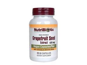 Nutribiotic Grapefruit Seed Extract, Capsulesplus 125 mg