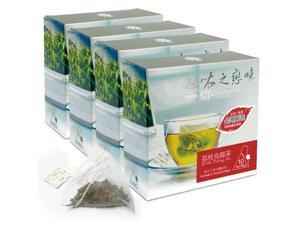 Litchi Oolong Bag Tea - Taiwan Fruit Flavor Tea (4 Packs/Set)