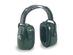 HOWARD LEIGHT BY HONEYWELL 1010929 Ear Muff, 28dB, Over-the-Head, Green