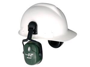 Howard Leight Thunder T2Hv Dark Green Dielectric Helmet Mount Noise Blocking ...