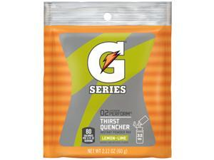 Gatorade 2.12 Ounce Instant Powder Pouch Lemon Lime Electrolyte Drink - Yield...