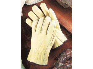 Large Grain Cowhide Unlined Drivers Gloves