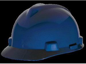 MSA Blue V-Gard Class E, G Type I Polyethylene Standard Slotted Hard Cap