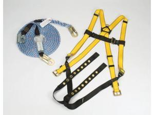 MSA X-Large Workman Roofers' Fall Protection Kit (Contains Vest Style Harness
