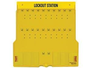 20 PADLOCK STATION WITH COVER - UNFILLED 1 EA