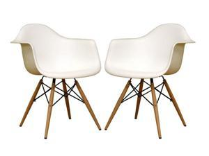 Wholesale Interiors White Accent Chairs