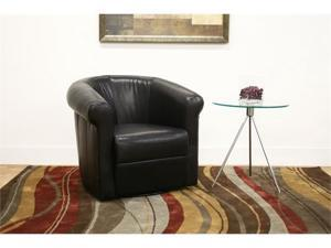 BlackBrown Arm Chair by Wholesale Interiors