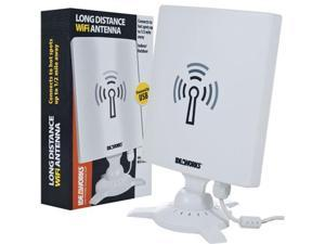 WiFi Antenna Booster - Long Distance Wireless up to 1/2 Mile Away by Ideaworks