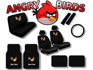 Angry Birds Seat Covers & Floor Mats Set – 15pc