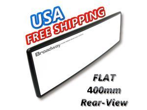 Rearview Mirror JDM Broadway FLAT 400mm WIDE Rear View