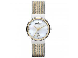 Skagen Womens Steel 355SSGS Watch