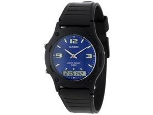 Casio AW49HE-2AV MEN'S ANA-DIJI DUAL TIME WATCH