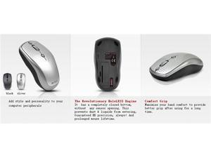 A4-Tech G9-530HX 2000 DPI Patented Hole-Less Engine Ultra-High Definition Wireless Mouse
