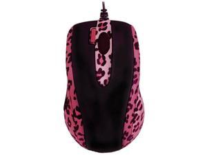 G-Cube GOL-73PS 800 dpi Double-Click Button Mini Optical USB Wired Mouse (Lux Leopard) with Travel Pouch for both PC (Win XP/2000/Vista) and Mac OS 10.x