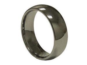8mm Mens simpleTungsten Wedding Band Ring