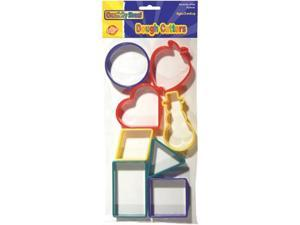 Chenille Kraft - Dough Cutters - Shapes - Pack of 8