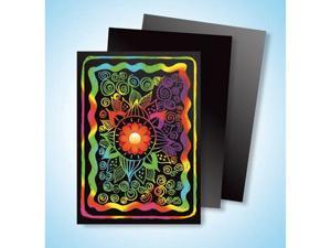 Scholastic Teaching Artist Scratch Art Trading Cards