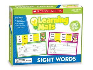 Scholastic Teacher's Friend Sight Words Learning Mats, Multiple Colors (TF7106)
