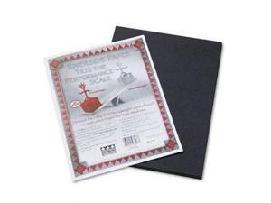 Riverside Recycled Eggshell Finish Construction Paper, 9 X 12 Inches, Black - 50 Per Package