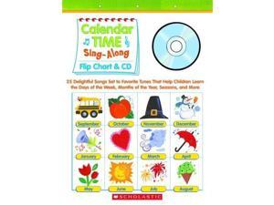 Paul Strausman Calendar Time Sing-Along Flip Chart and CD: