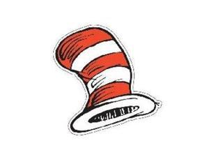 EUREKA EU-841300 DR SEUSS THE CATS HAT CUT-OUTS